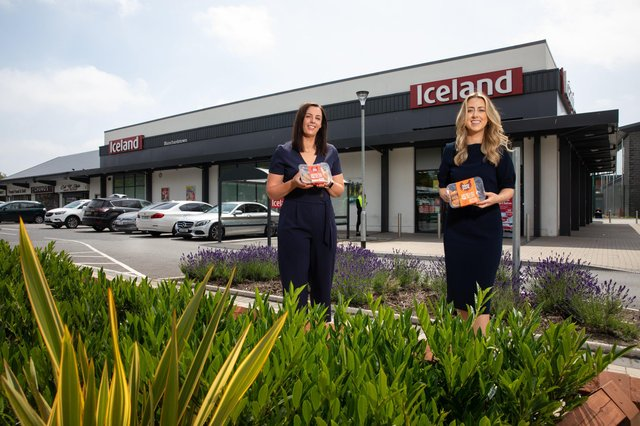 Estelle Robinson, Commercial Manager at Moy Park and Emma Murphy from Iceland Ireland