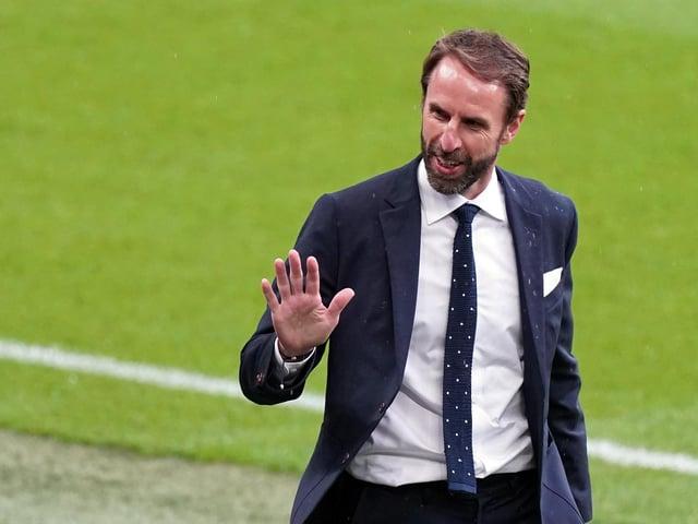 England manager, Gareth Southgate.