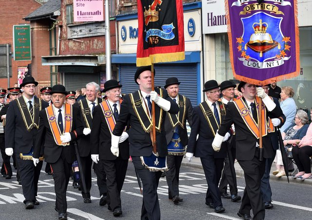Instead of 18 main venues, there will be around 100 local parades today