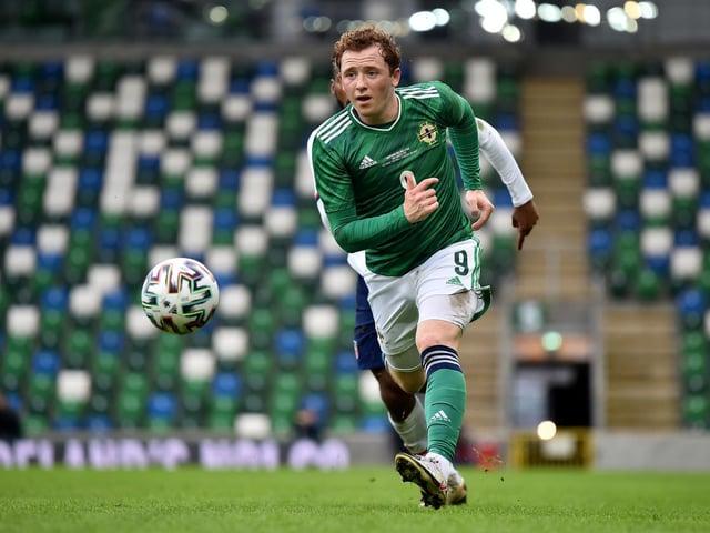Northern Ireland international Shayne Lavery