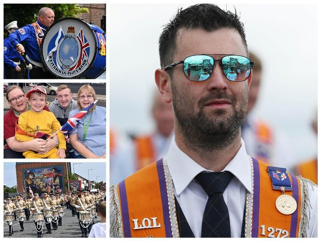 The Twelfth 2021 - 41 photographs from some of the 100 plus parades across Northern Ireland
