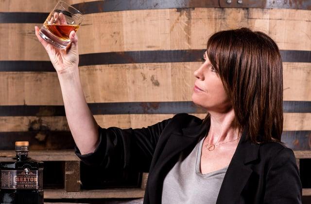 Alex Thomas, master distiller at The Sexton Irish Single Malt Whiskey in Bushmills