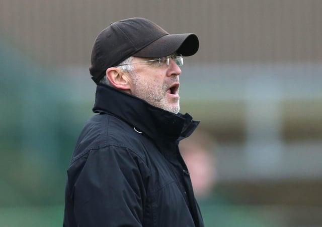 Glentoran manager Mick McDermott. Pic by PressEye Ltd.