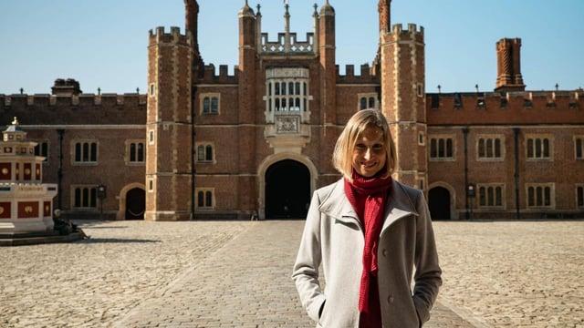 Tracy Borman, curadora en jefe de los palacios reales históricos