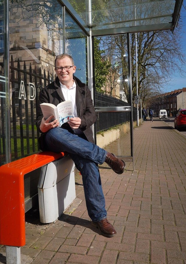 Brian helped to launch the Translink virtual book club earlier this year