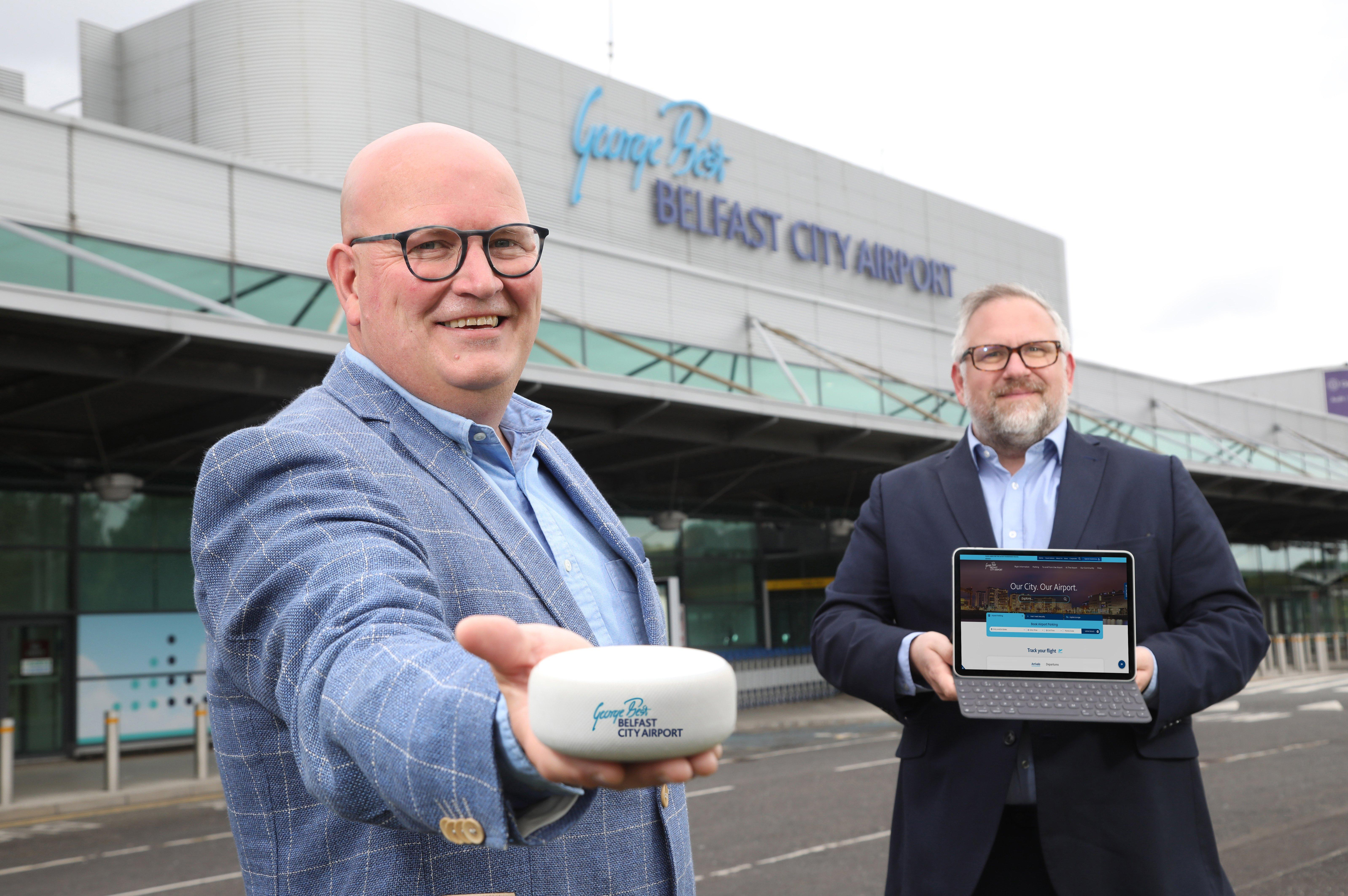 newsletter.co.uk - Claire Cartmill - George Best Belfast City Airport kickstarts six-figure investment in digital transformation