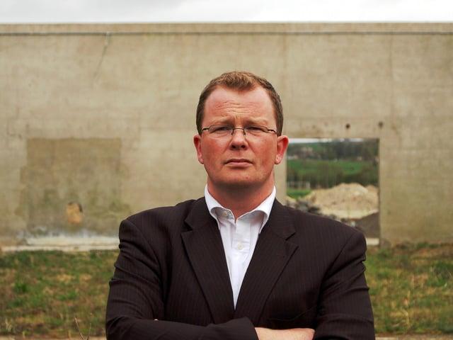 Northern Ireland author Brian McGilloway