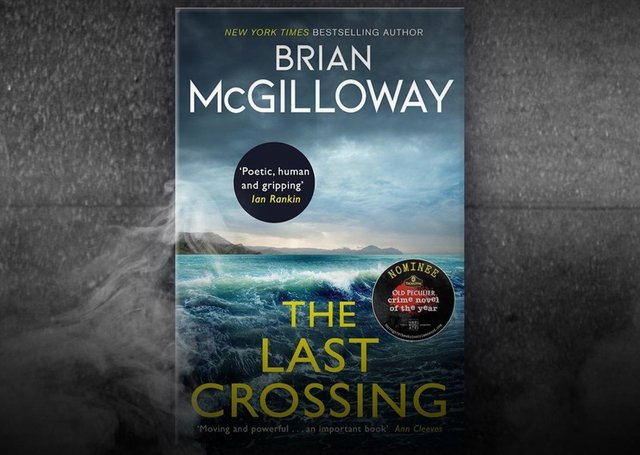 The Last Crossing by Brian McGilloway made it to the final shortlist of six books for the Theakston's Old Peculier Crime Novel of the Year