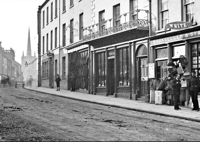 An old photograph of Enniskillen, Co Fermanagh