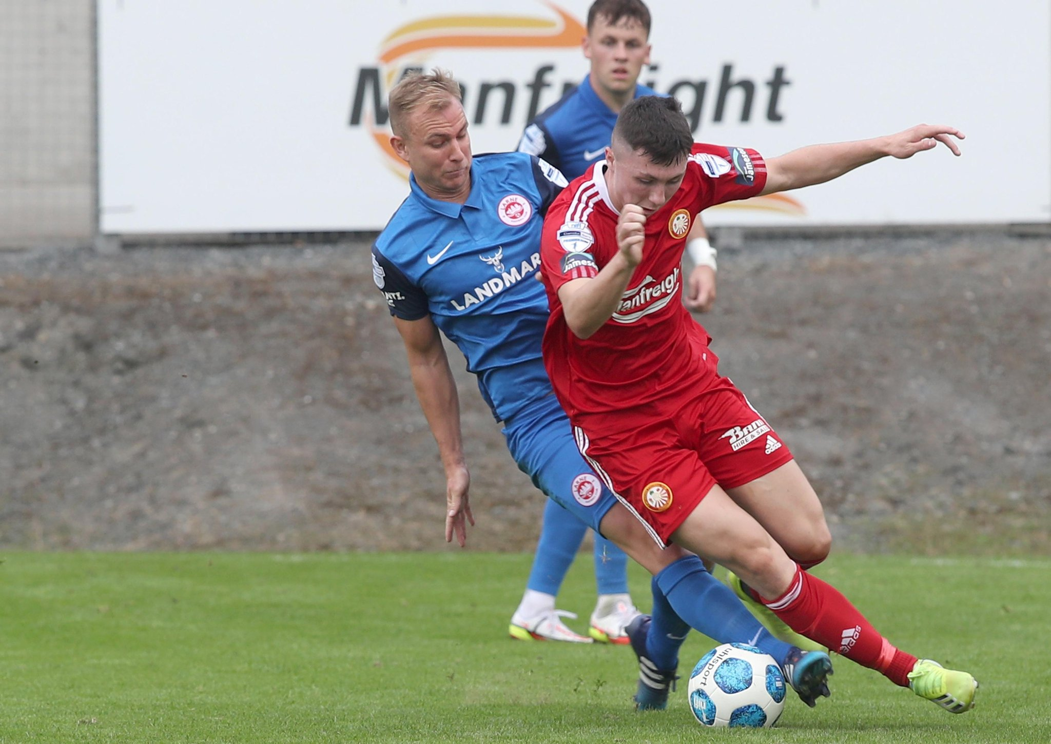 Andrew Mitchell the Larne midfield anchor in eye of attacking storm