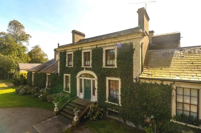 Georgian gem Miltown House, situated just outside Dungannon.  Photo: Norman Devlin Ltd