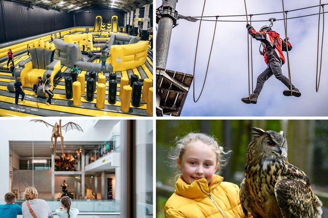 From inflatable parks to forest treks, here are some of the top ideas for family days out in County Antrim this summer.