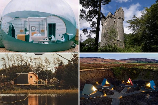There are a number of unusual and quirky places available for your Northern Ireland staycation.  Photos: Host Unusual