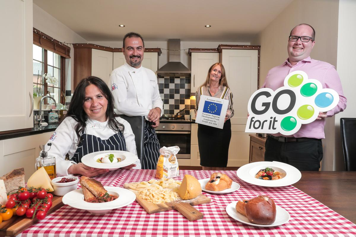 Talented Italian husband and wife duo bring a taste of la dolce vita to Belfast